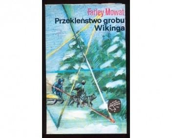 Okładka książki Przekleństwo grobu Wikinga