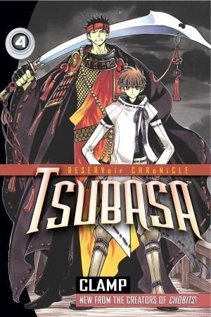 Okładka książki Tsubasa 4