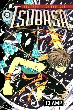 Okładka książki Tsubasa 8