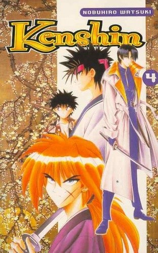 Okładka książki Kenshin, t. 4