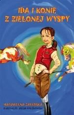 Okładka książki Ida i konie z Zielonej Wyspy