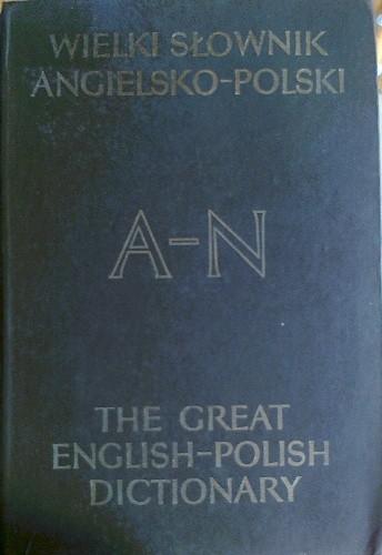 Okładka książki Wielki słownik angielsko-polski z suplementem