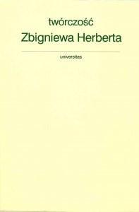 Okładka książki Twórczość Zbigniewa Herberta. Studia