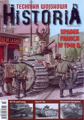 Okładka książki Technika Wojskowa HISTORIA - 2012/3