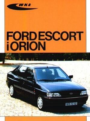 Okładka książki Ford Escort i Orion