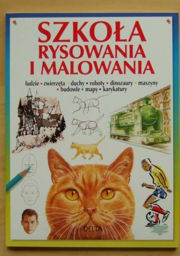 Okładka książki Szkoła rysowania i malowania