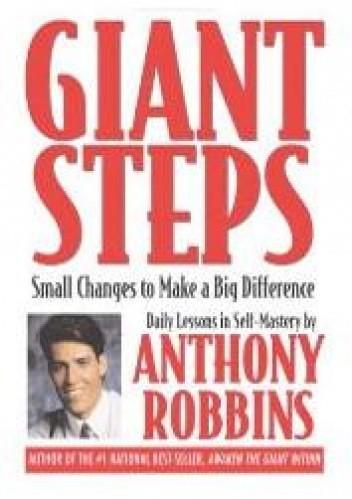 Okładka książki Olbrzymie kroki. 365 lekcji samodoskonalenia