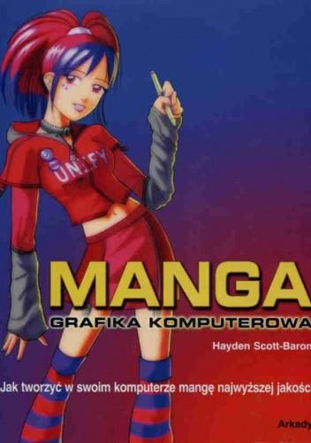 Okładka książki Manga. Grafika komputerowa
