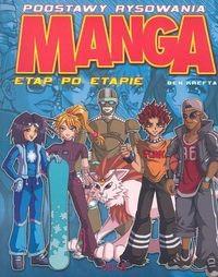 Okładka książki Podstawy rysowania. Manga etap po etapie