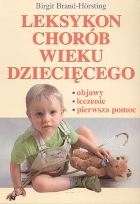 Okładka książki Leksykon chorób wieku dziecięcego