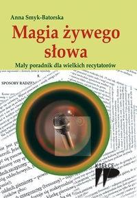 Okładka książki Magia żywego słowa.