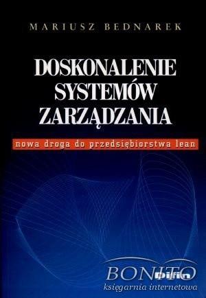 Okładka książki Doskonalenie systemów zarządzania