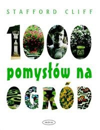 Okładka książki 1000 pomysłów na ogród
