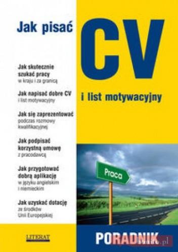 Okładka książki Jak pisać CV i list motywacyjny