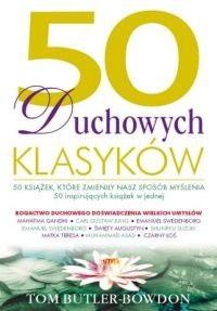 Okładka książki 50 duchowych klasyków. 50 książek, które zmieniły nasz sposób myślenia
