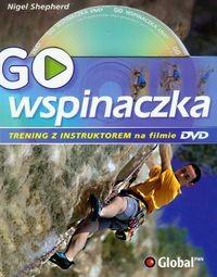 Okładka książki GO Wspinaczka Trening z instruktorem na filmie DVD