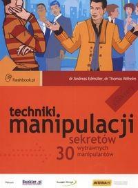 Okładka książki Techniki manipulacji 30 sekretów wytrawnych manipulantów