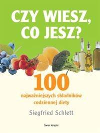 Okładka książki Czy wiesz co jesz? 100 najważniejszych składników codziennej diety