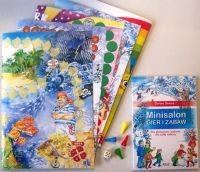 Okładka książki Minisalon gier i zabaw