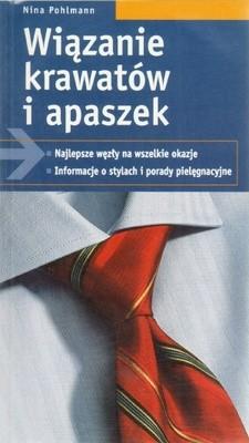 Okładka książki Wiązanie krawatów i apaszek