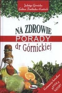 Okładka książki Na zdrowie Porady dr Górnickiej