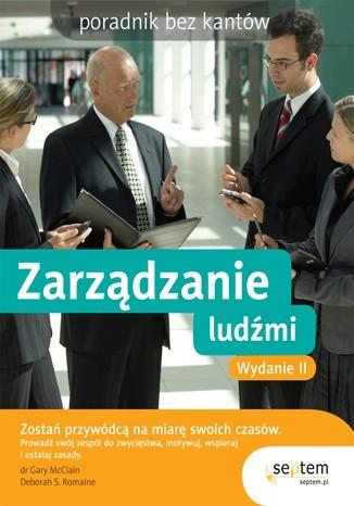 Okładka książki zarządzanie ludźmi/poradnik bez kantów/