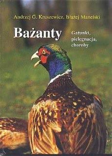 Okładka książki Bażanty. Gatunki, pielęgnacja, choroby