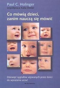 Okładka książki Co mówią dzieci, zanim nauczą się mówić
