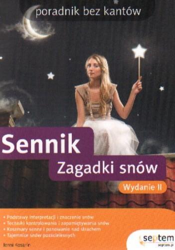 Okładka książki Sennik. zagadki snów. Poradnik bez kantów. Wydanie II