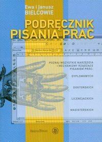 Okładka książki Podręcznik pisania prac albo technika pisania po polsku