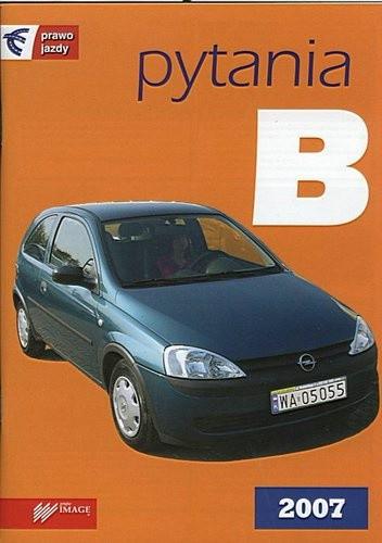 Okładka książki PYTANIA B MAJ 2007