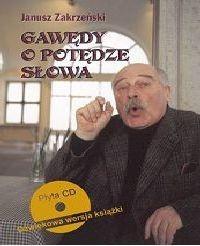 Okładka książki Gawędy o potędze słowa. Poradnik oratorski z płytą CD