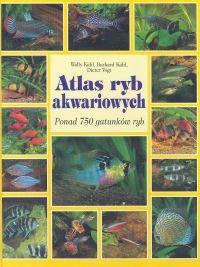 Okładka książki Atlas ryb akwariowych. Ponad 750 gatunków ryb