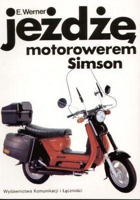 Okładka książki Jeżdżę motorowerem Simson