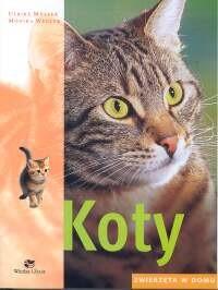 Okładka książki Koty. Zwierzęta w domu