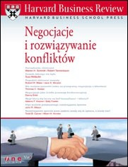 Okładka książki Harvard Business Review. Negocjacje i rozwiązywanie konfliktów