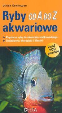 Okładka książki Ryby akwariowe od A do Z