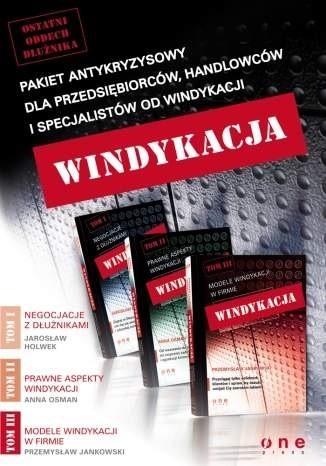 Okładka książki Windykacja Tom I, II i III