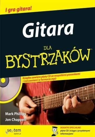 Okładka książki Gitara dla bystrzaków