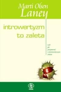 Okładka książki Introwertyzm to zaleta