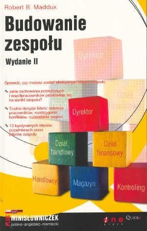 Okładka książki Budowanie zespołu