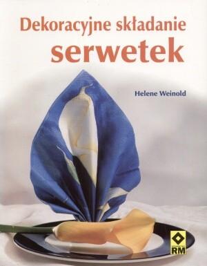 Okładka książki Dekoracyjne składanie serwetek