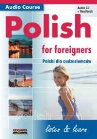 Okładka książki Polski dla Cudzoziemców + CD