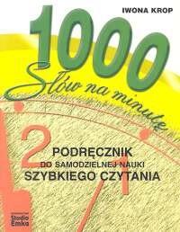 Okładka książki 1000 słów na minutę