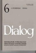Okładka książki Dialog, nr 6 / czerwiec 1999