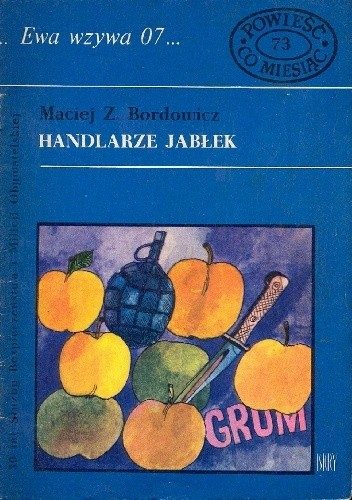 Okładka książki Handlarze jabłek