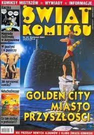 Okładka książki Świat Komiksu #22 (kwiecień 2001)
