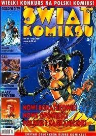 Okładka książki Świat Komiksu #21 (luty 2001)