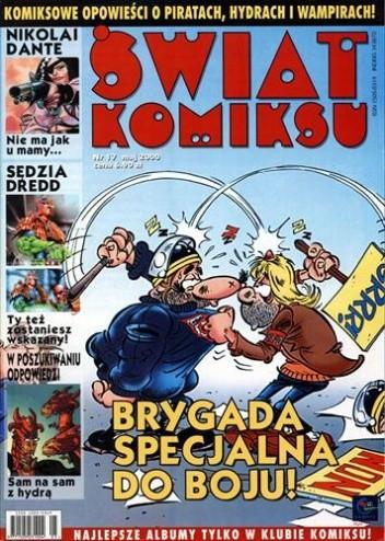 Okładka książki Świat Komiksu - 17 - (maj 2000)