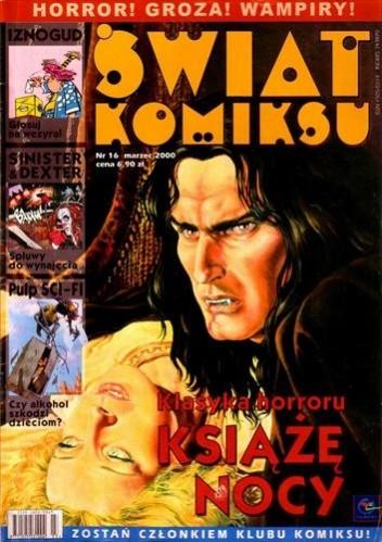 Okładka książki Świat Komiksu #16 (marzec 2000)